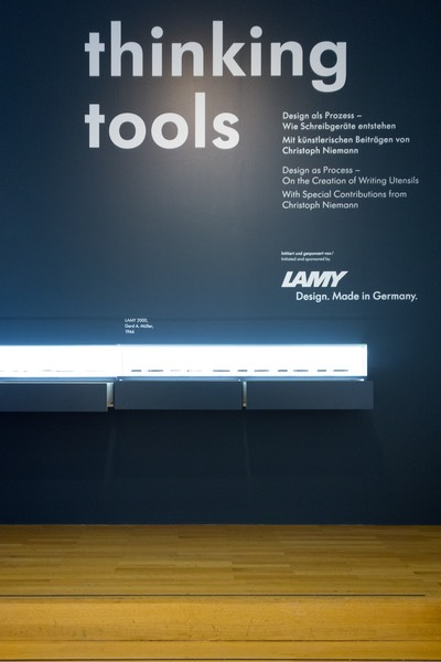 LAMY im MAK 1_PAPERWORLD 2017_Frankfurt am Main